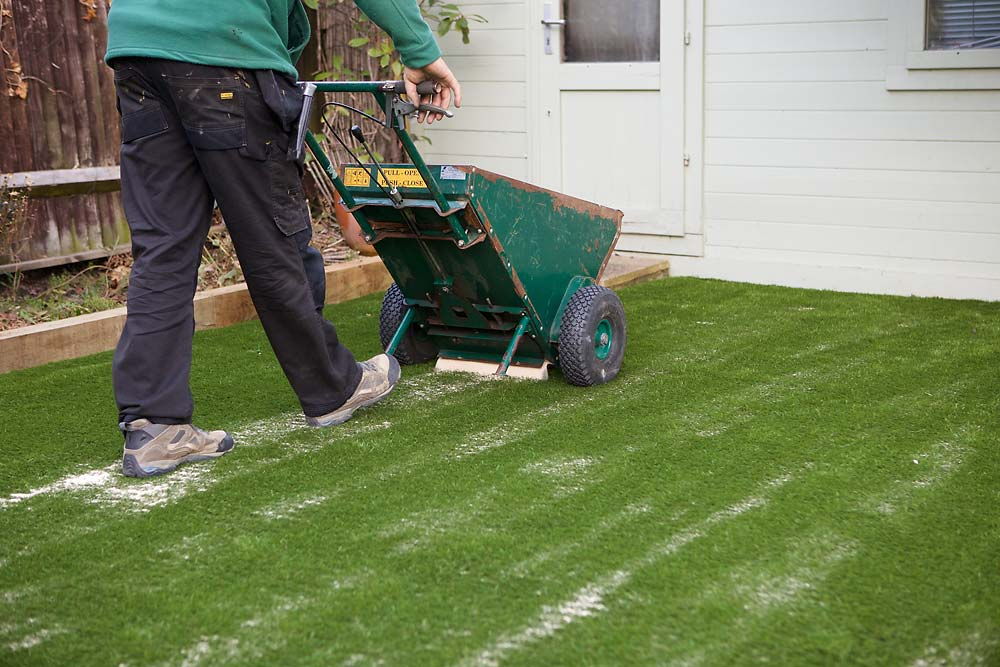 Artificial Lawn Fitting | The Sussex Artificial Grass Company
