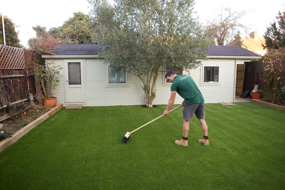 Artificial Lawn Installation | The Sussex Artificial Grass Company
