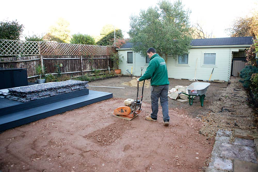 Garden Landscaping Worthing   The Sussex Artificial Grass Company