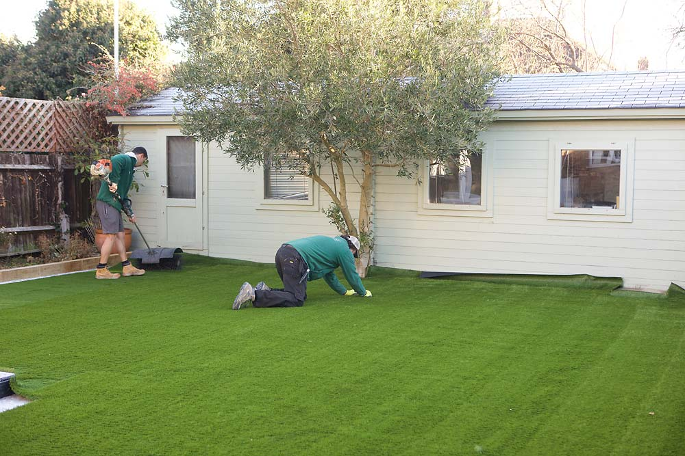 Fake Grass Installation | The Sussex Artificial Grass Company