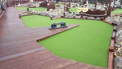 Artificial Grass Adventure Golf | The Sussex Artificial Grass Company
