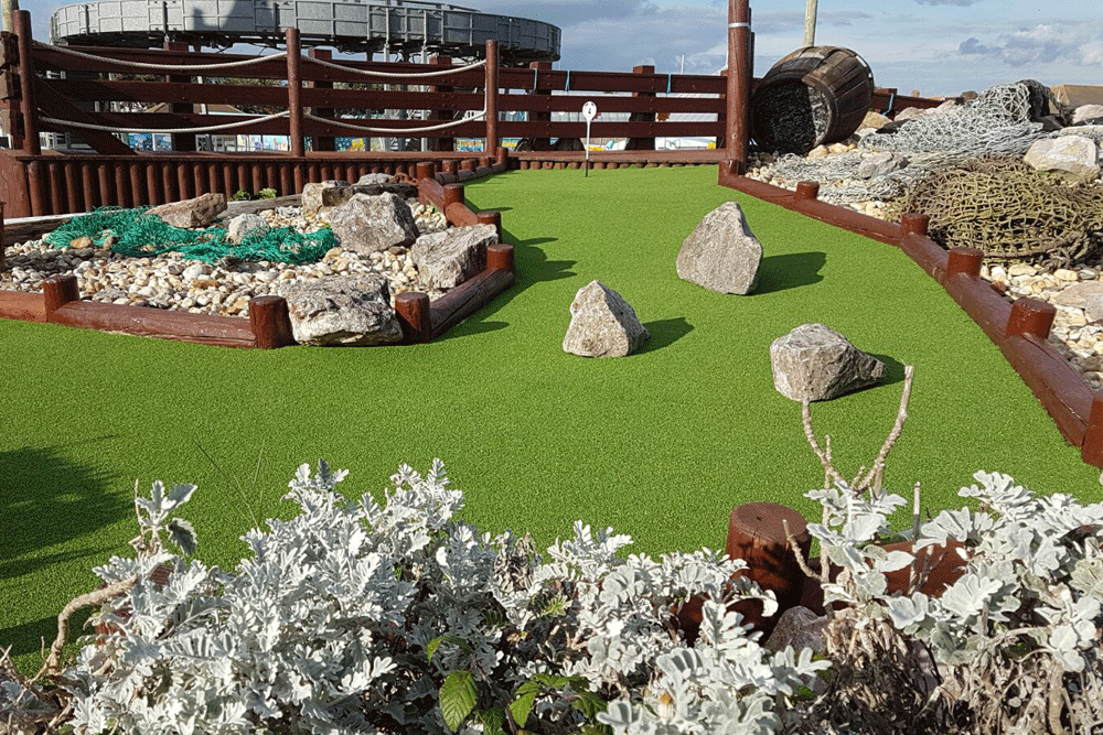 Artificial Grass for Sport | Crazy Golf | The Sussex Artificial Grass Company