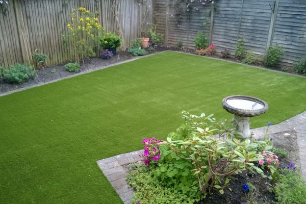 Client Installation: Artificial Grass in Crawley