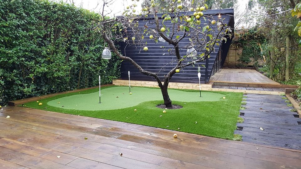 home putting green in Sussex