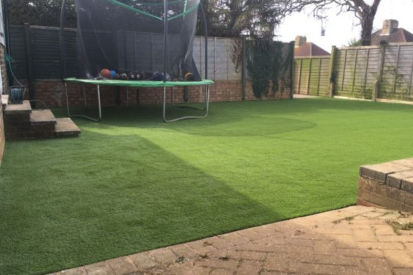 child friendly fake turf