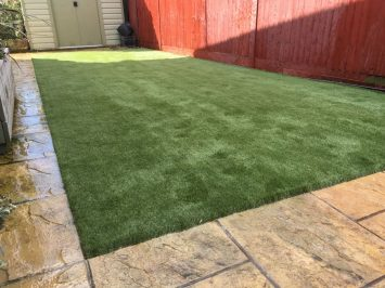 Client Installation: Dog Friendly Artificial Grass in Eastbourne