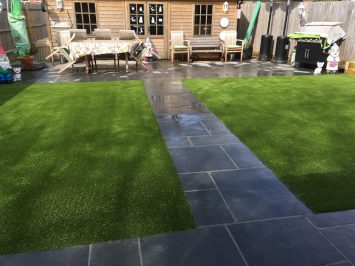 Installation of our Award-Winning Artificial Grass in Crawley