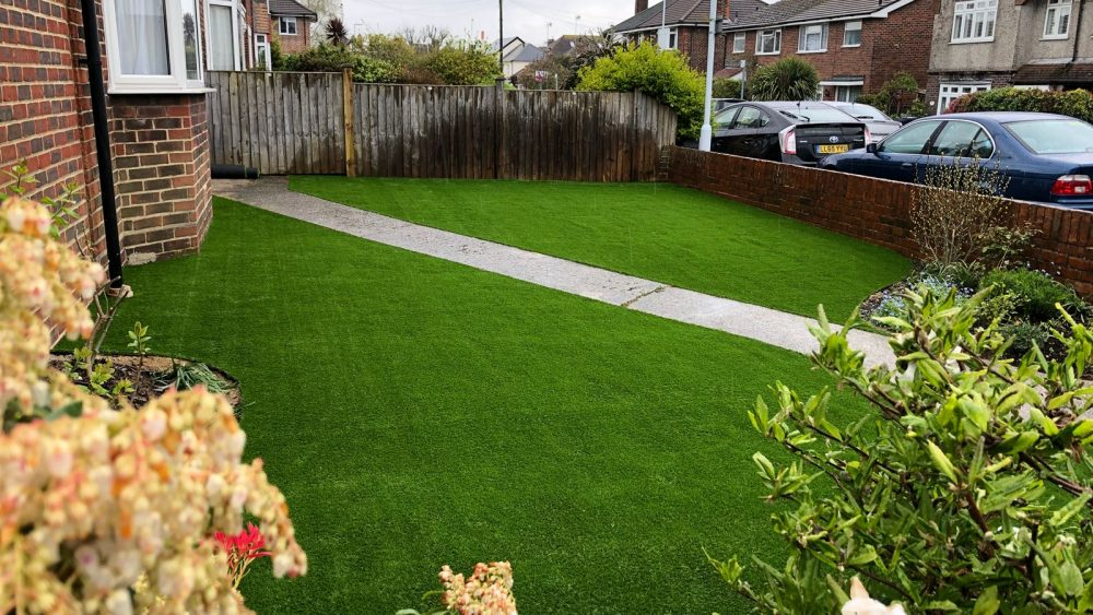 artificial grass in Worthing
