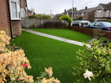 From Scruffy to Super Smart: An Installation of Artificial Grass in Worthing