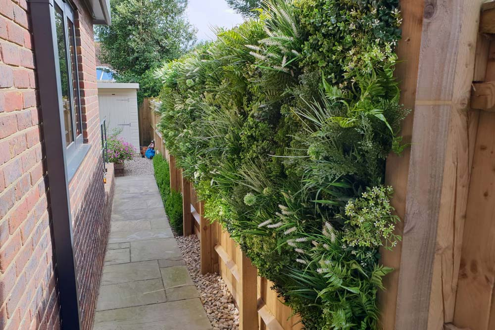 Artificial Green Walls Sussex Artificial Grass Company