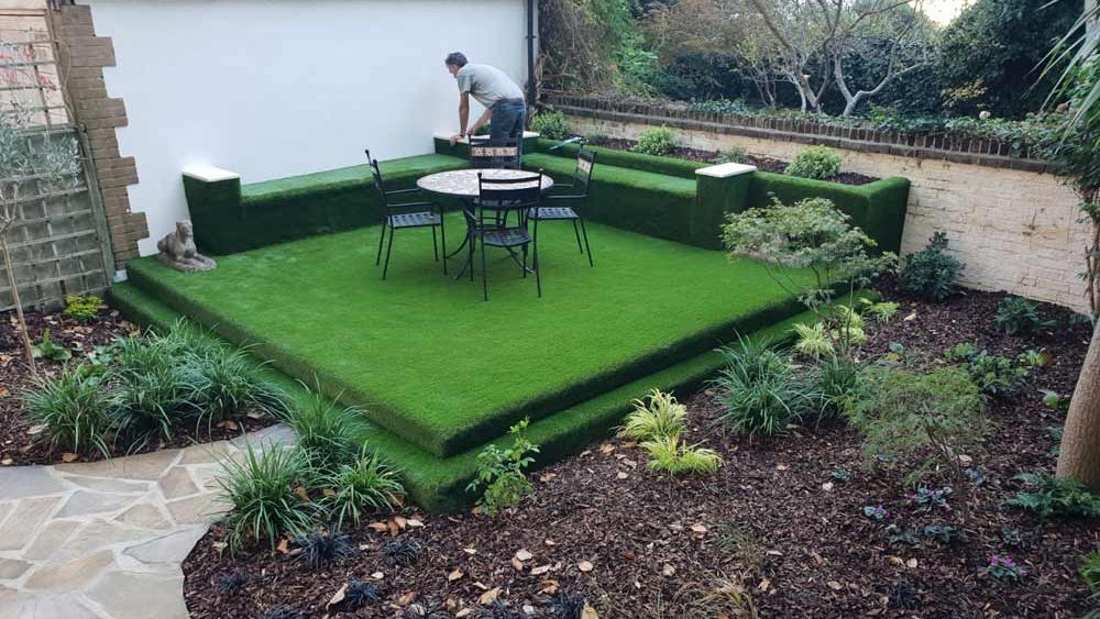 Garden Design with Artificial Grass