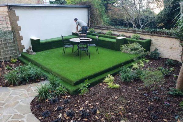 Fun Garden Design with Artificial Grass