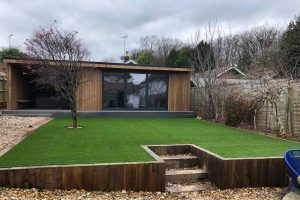 Garden Office Landscaping | Easigrass Sussex