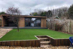 Garden Office Landscaping | Easigrass Sussex