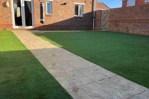 Improving New Build Gardens | Sussex Artificial Grass Company