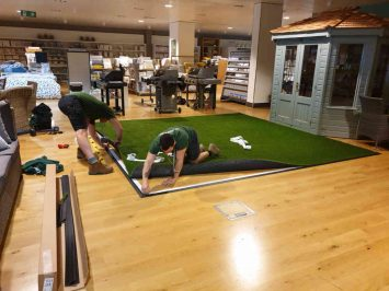 Sussex Easigrass Showroom – John Lewis, Horsham