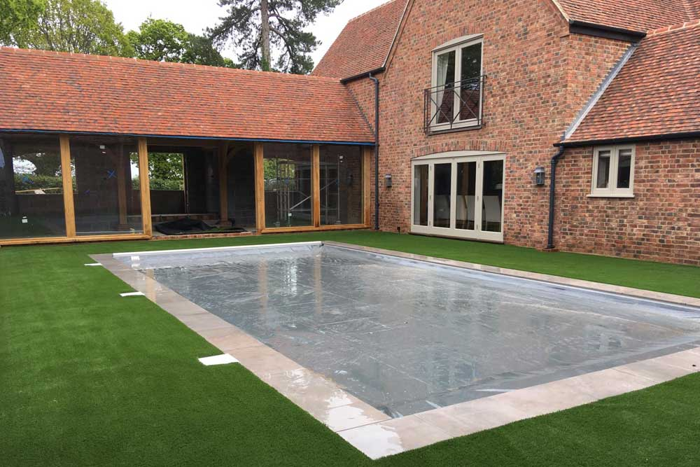 Swimming Pool Surround | Sussex Artificial Grass Company