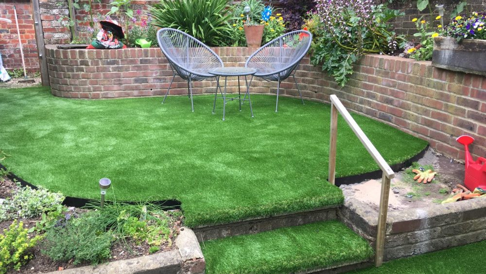 Urban Gardening Sussex | The Sussex Artificial Grass Company