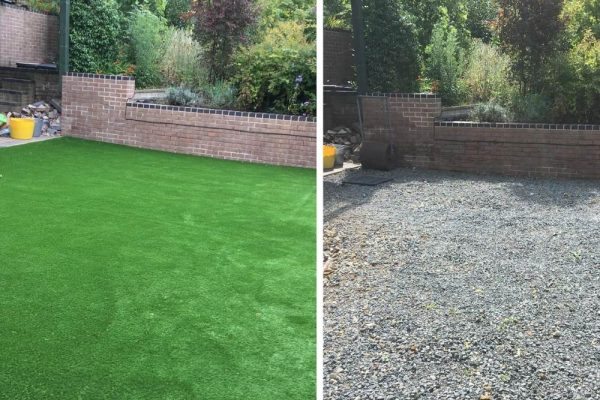 Artificial Grass on Gravel | Sussex Artificial Grass Company
